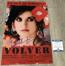 PEDRO ALMODOVAR SIGNED AUTOGRAPH VOLVER 12x18 PHOTO wEXACT PROOF BECKETT BAS COA