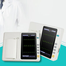 Portable Digital 12 Lead Electrocardiograph Ecg Ekg Machine 2 Years Warranty Us