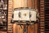 Gretsch USA 6.5x14 60's Marine Pearl Nitron Snare Drum - New!