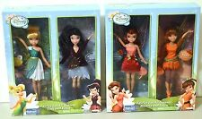 Disney Fairies For All Seasons Tink Vidia Rosetta Fawn Barbie Doll Lot of 2