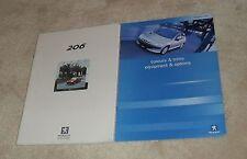 Peugeot 206 Brochure 2000 - 2.0 GTI Roland Garros XSI D Turbo GLX Look LX HDI