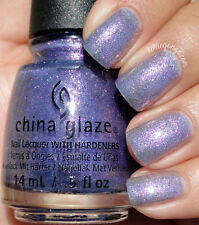 CHINA GLAZE nail lacquer polish with hardeners in 1481 don't mesh with me