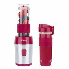 Standmixer Edelstahl 300 W Smoothie Maker Mixer Milchshaker Glas Reisedeckel