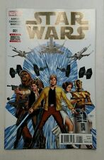 Star Wars #1 Main Cover NM First 1st Print Marvel 2015 Aaron Cassaday
