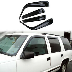 Smoke Tinted In-Channel Vent Visor Deflector 4pcs For 2015-2016 ...