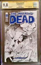 IMAGE Comics THE WALKING DEAD #100 CGC SS 9.8 Variant Kirkman ZOMBIES 1st NEGAN