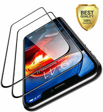 For iPhone 11 Pro Max XR XS 7 8 SE FULL COVER Tempered Glass Screen Protector