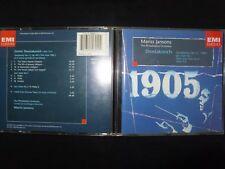CD SHOSTAKOVITCH / SYMPHONY N° 11 / JAZZ SUITE N° 1 etc....... / JANSONS /