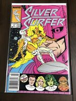 Silver Surfer #1 Feat. The Fantastic Four Marvel Comics Newsstand July 1987