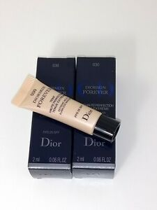 Dior Diorskin Forever 030 Undercover Teint Haute Perfection Tenue Extreme 2x 2ml
