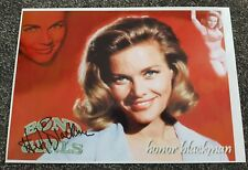 The Avengers Honor Blackman Hand Signed A4 Photo