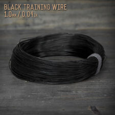 American Bonsai Black Aluminum Training Wire - 1.0mm - 1 kilogram - 1575 ft - 1k
