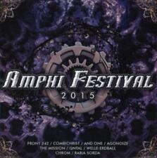 Amphi Festival 2015 Compilation - CD Agonoize, Combichrist, Front 242, And One