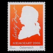 Austria 2006 - Mozart in Vienna Music Composer - Sc 2039 MNH