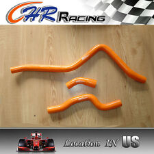 ORANGE FOR 01-05 Yamaha Raptor 660 YFM660 Radiator Hose 2001 2002 2003 2004 2005