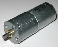 12 V DC Gearhead Hobby Motor - 35 RPM - 5-12 VDC Range - Low Current High Torque