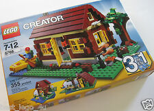 LEGO 5766 Creator Log Cabin New Sealed Set