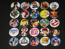 80's Icons Buttons /  Pins 25