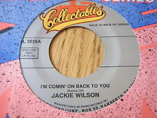 "JACKIE WILSON - I'M COMIN' ON BACK TO YOU / THE TEAR OF THE YEAR     7"" UNPLAYED"