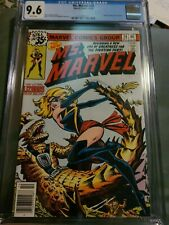 MS. MARVEL #20 CGC 9.6 WHITE PAGES! Best price on Ebay! L@@K! 1978 1st Cameo blk