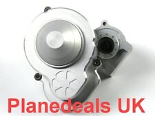 UPGRADE CNC ALUMNIUM Gearbox with steel gars for Axial SCX10 Ⅱ 2 silver K4