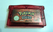 Gioco per NINTENDO GAME BOY GBA  italiano ☆  Pokémon versione RUBINO