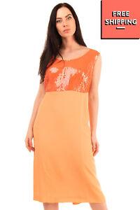 RRP €195 HELLA Crepe Dress Suit Plus Size 110 Square Sequins Scoop Neck