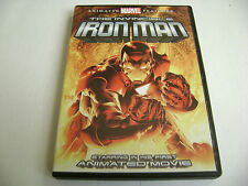 The Invincible Iron Man (DVD, 2007) Animated Marvel Features