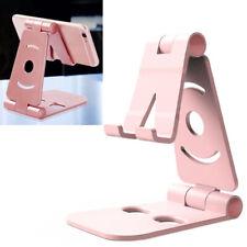 Universal Adjustable Folding Mobile Phone Holder Stand Desk Tablet Portable US