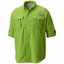 "New Mens Columbia PFG ""Bahama II"" Omni-Shade Vented Long Sleeve Fishing Shirt"