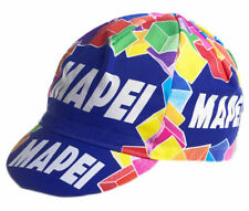 MAPEI RETRO VINTAGE PRO CYCLING TEAM MADE IN ITALY SUMMER BIKE HAT CAP