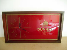 horloge pendule DUNHILL publicitaire DUNHILL pendulum clock advertising