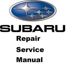 2013 subaru xv crosstrek factory repair service manual | ebay.