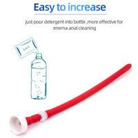Long Comfort Nozzle Attachment Shower Tip Cleanser Anal Enema Colon Cleaner 30CM