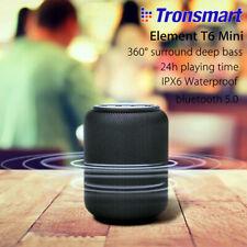 TRONSMART Altavoz Bluetooth 5.0 Impermeable Amplificador Subwoofer inalámbrico portátil