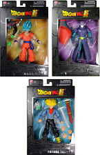 Dragon Stars Series 3 Action Figure Set ~ SSGSS Goku, SS Future Trunks & Hit