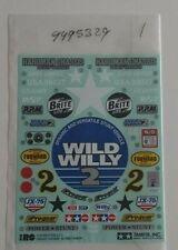 tamiya wild willy 2 decals ITEM 58242