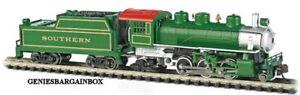 N Scale Bachmann SOUTHERN #1838 Prairie 2-6-2 Locomotive New in Box 51572