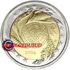 2 Euro Commémorative Italie 2004 - Programme Alimentaire Mondial