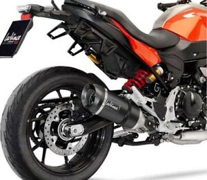 BMW F900 R,XR 2020 2021 LEOVINCE FACTORY S BLACK EDITION EXHAUST *IN STOCK*