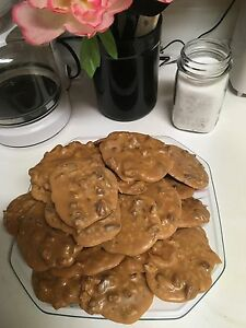 New*Nutz Pecan Pralines™ (4-SAMPLES) Homemade Pecan Candy ~ ALL NATURAL