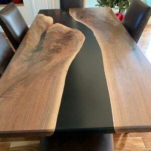 152cm x 81.3cm Epoxid Holz Harz Fluss Kaffee Table Top Heim Möbel