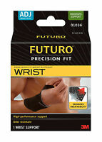 Futuro Precision Fit Wrist High Performance Support Odor resistant
