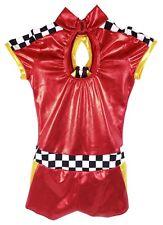 Race Red Unitard Dance/Recital Costume - Women's Child 10