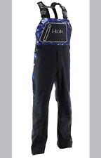 HUK Performance Fishing Hydra Bib Reflective Bottoms Bib Men's Black Sz L $230