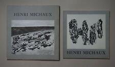[LOT] Henri MICHAUX - 2 catalogues d'exposition Point Cardinal - 1982 / 1984
