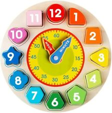 Children's Toy For 2- 6 Year Olds Toddlers Baby Kids Boy Girl Sorting Clock