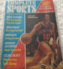 1971 Complete Sports - Winter Issue - Walt Frazier Cover - Olympic Report