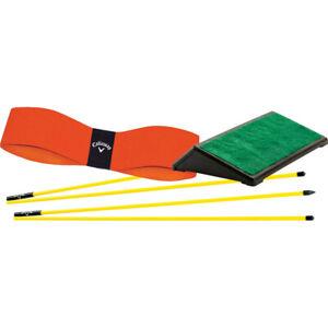 Nuevo Callaway Golf Básico Entrenamiento Lote Swing Entrenador Ayuda
