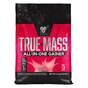 BSN True Mass 4.2kg All in One Whey Heavy Mass Gainer With Creatine & Glutamine